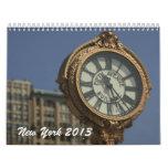 New York City Calendar 2012