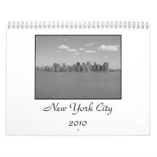 New York City Calender Calendar
