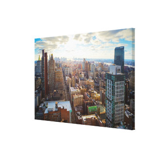 New York City Stretched Canvas Print