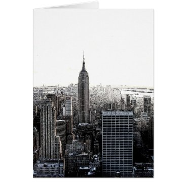 USA Themed New York City Card