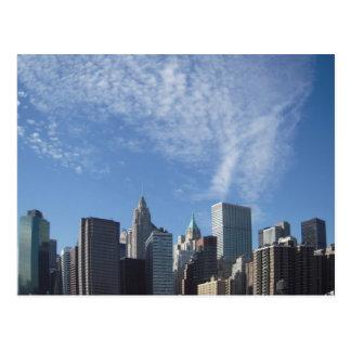 New York City Card Postcard