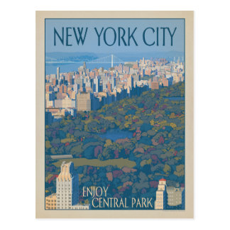 New York City | Central Park Postcard
