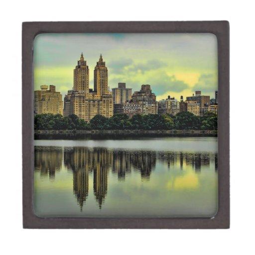 New York City Central Park Skyline Premium Trinket Box