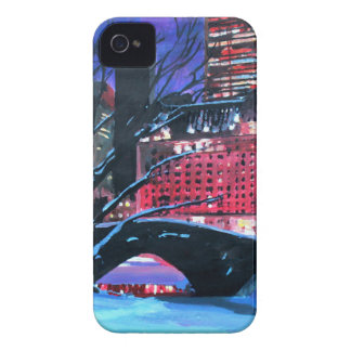 New York City - Central Park Winter iPhone 4 Case
