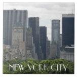 New York City Ceramic Large Square Tile