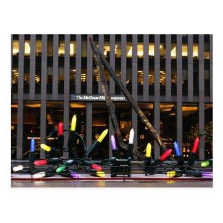 New York City Chain of Lights Postcard