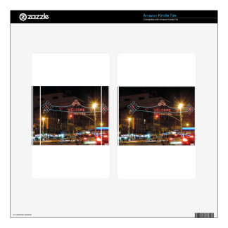 New York City Chinatown Kindle Fire Skins
