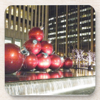 New York City Christmas Drink Coaster