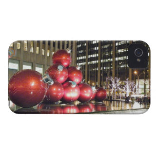 New York City Christmas iPhone 4 Case-Mate Case