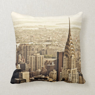 New York City - Chrysler Building Pillow