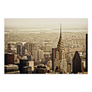 New York City - Chrysler Building Poster