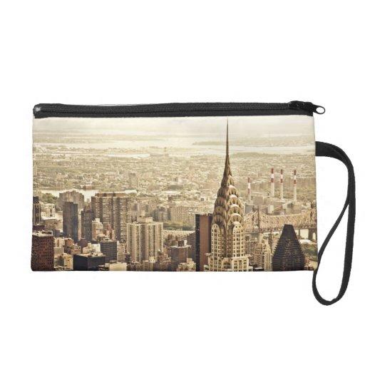 New York City - Chrysler Building Wristlet Clutches
