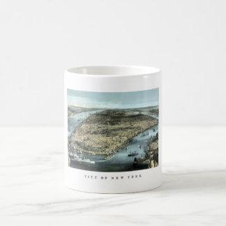 New York City -- Circa 1850 Coffee Mug