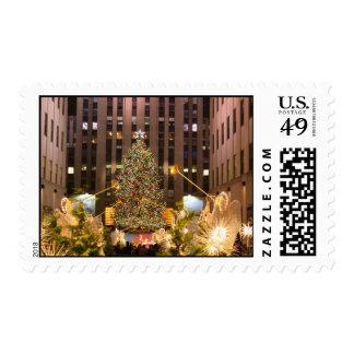 New York City Classic Postage Stamp
