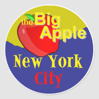 New York City Classic Round Sticker