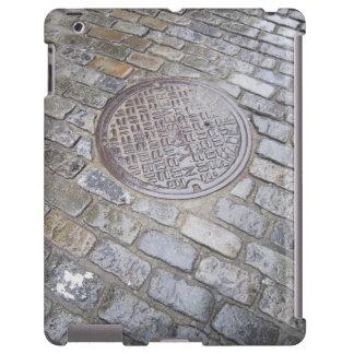 New York City Cobblestone Manhole iPad Cover
