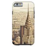 New York City - construcción de Chrysler Funda De iPhone 6 Tough