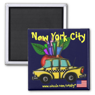 New York City cool magnet design