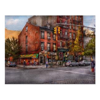 New York - City - Corner of One way & This way Postcard