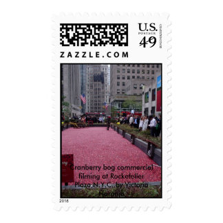 NEW YORK CITY  Cranberry bog commercial Postage Stamps
