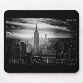 NEW YORK CITY custom monogram mousepad