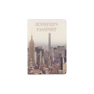New York City Custom Passport Holder