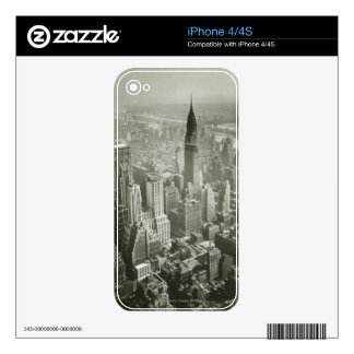 New York City Decal For The iPhone 4S