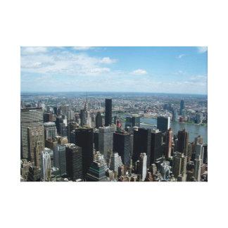 New York City del Empire State Building Impresión En Tela