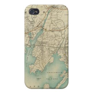 New York City del norte 7 iPhone 4 Cárcasa