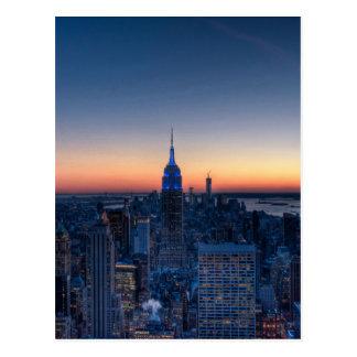 New York City del top del centro de Rockefeller Postal
