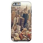 New York City desde arriba Funda Para iPhone 6 Tough