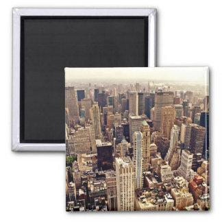 New York City desde arriba Iman De Frigorífico