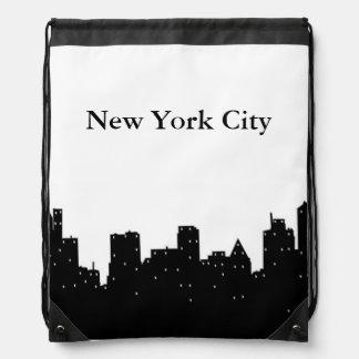 New York City Drawstring Backpack