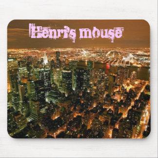 New York City, el ratón de Enrique Mouse Pad