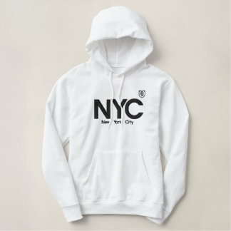 New York City Elegant SWEAT Embroidered Hoodie