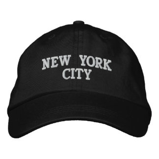 NEW YORK CITY - EMBROIDERED CAP