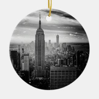 New York City Empire State Building Ceramic Ornament