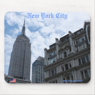 New York City Empire State Building mousepad