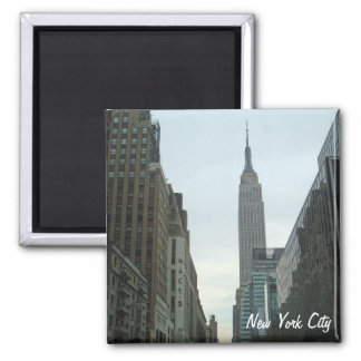 New York City Empire State Building Photo Magnet