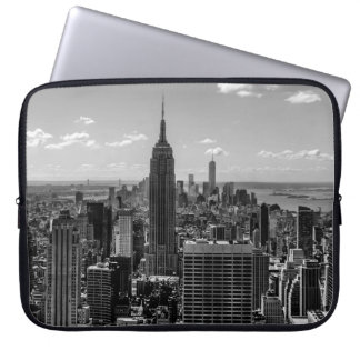New York City Empire State Building Skyline Laptop Sleeve