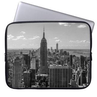 New York City Empire State Building Skyline Laptop Sleeves