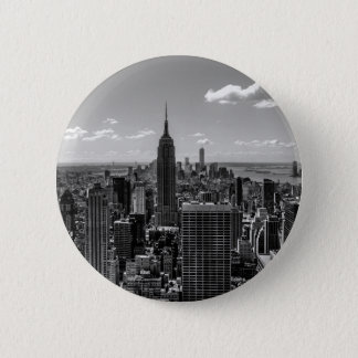 New York City Empire State Building Skyline Pinback Button