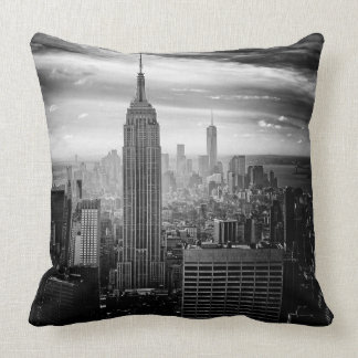 New York City Empire State Building Throw Pillow