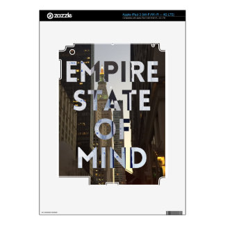 new-york-city-empire-state-of mind decal for iPad 3