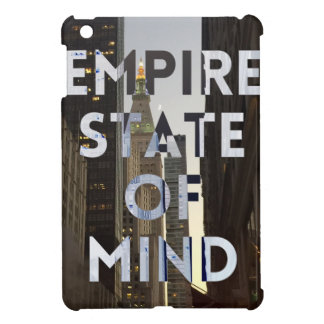 new-york-city-empire-state-of mind iPad mini cover