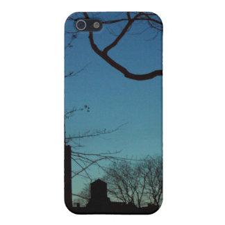 New York City en el crepúsculo - cubierta del iPho iPhone 5 Carcasa
