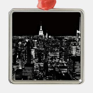 New York City en la noche Ornato