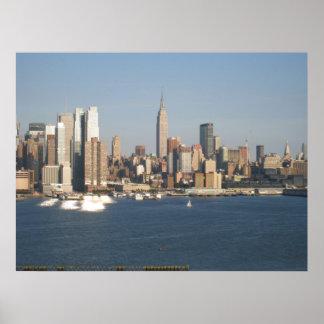 New York City enmarcó la foto Impresiones