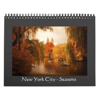 New York City - estaciones - calendario 2013