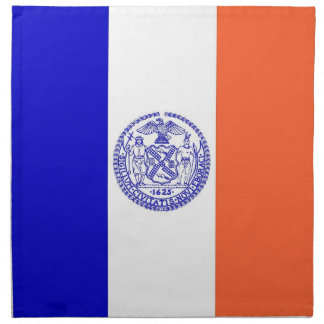 New York City Flag American MoJo Napkin